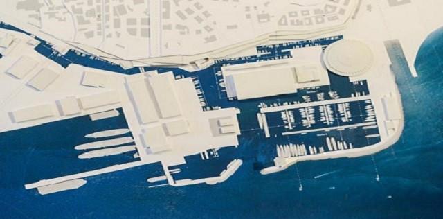 Genova, palazzo San Giorgio. la presentazione del progetto della Fiera di Genova.l'area della fiera