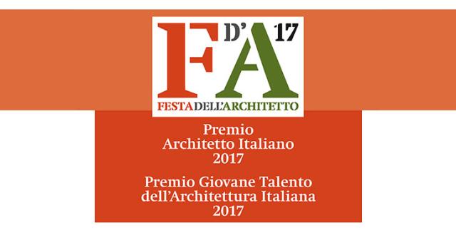 Premio Architetto Italiano 2017