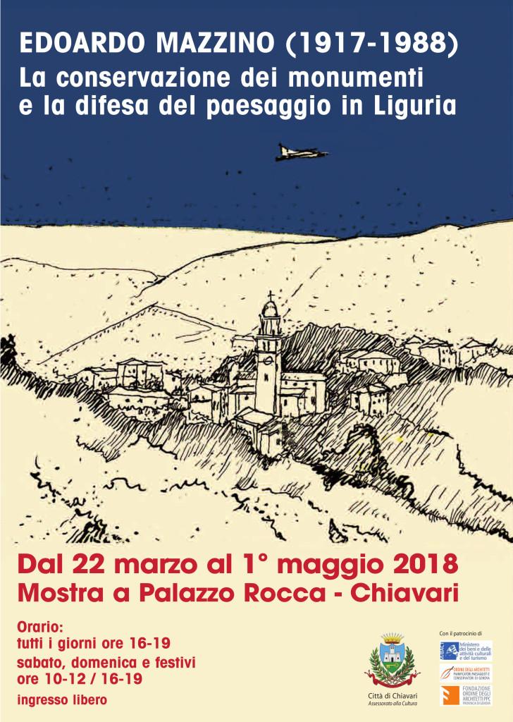 Manifesto Mostra 'EdoardoMazzino'22.3.2018