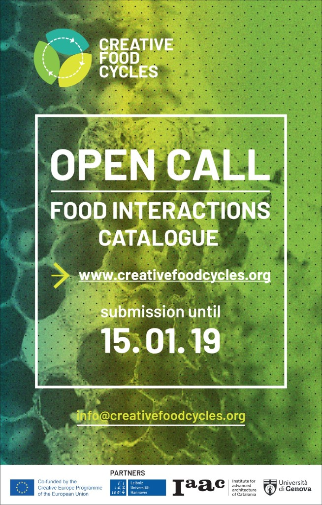 CFC — Open Call Food Interactions — WEB 2