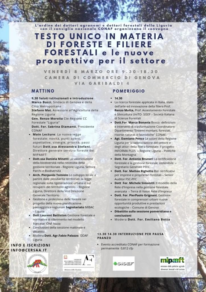 TESTO UNICO IN MATERIA DI FORESTE E FILIERE FORESTALI e le nuove prospettive per il settore (9)