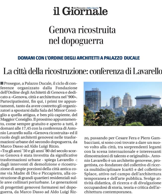 2019_05_26_Genova 900_Genova Ricostruita_Il Giornale