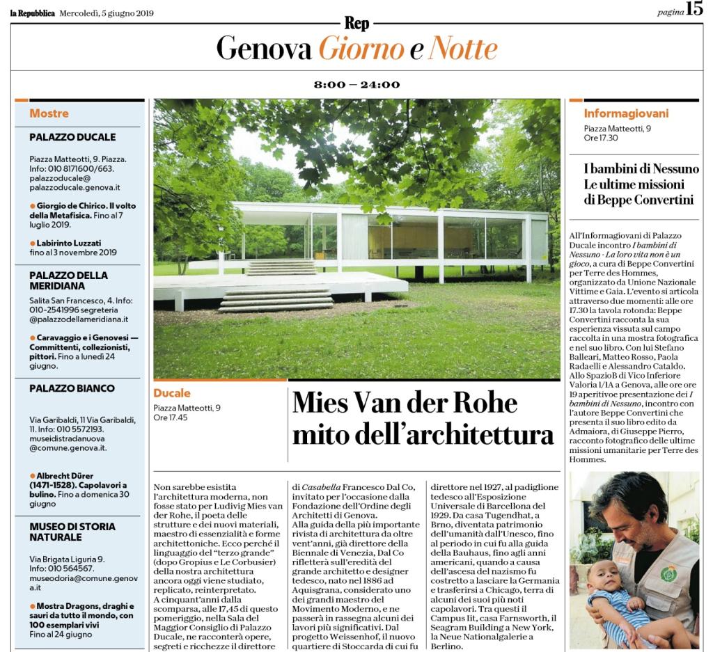 La Repubblica, ed. 05/06/2019