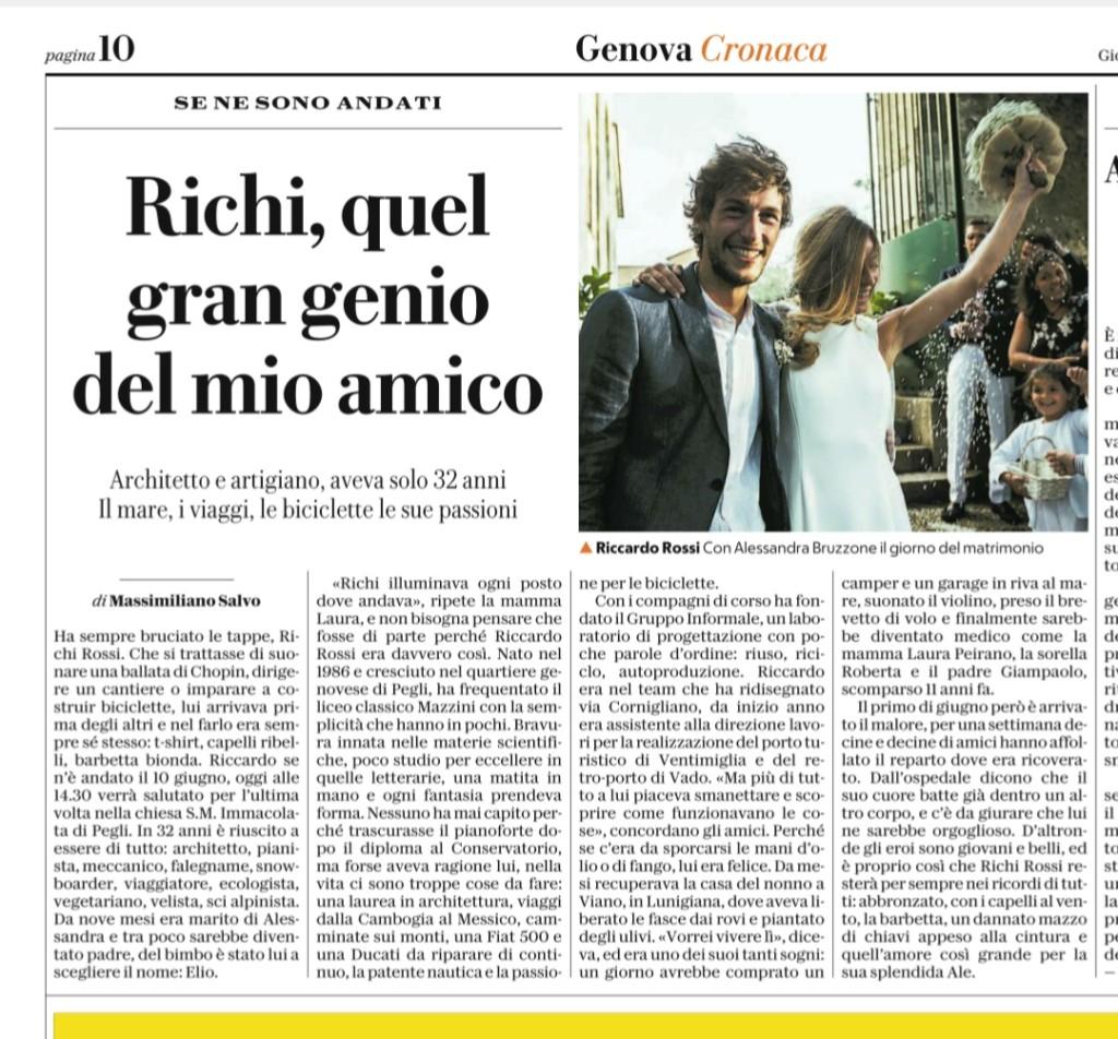 ricordo di Riccardo Rossi